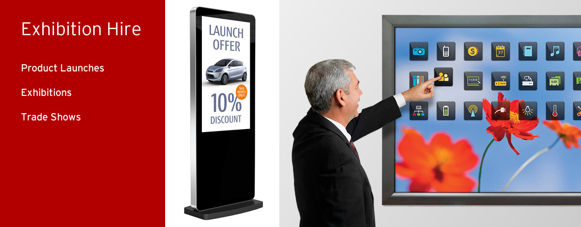 image of exhibition hire slider on www.active4hire.co.uk